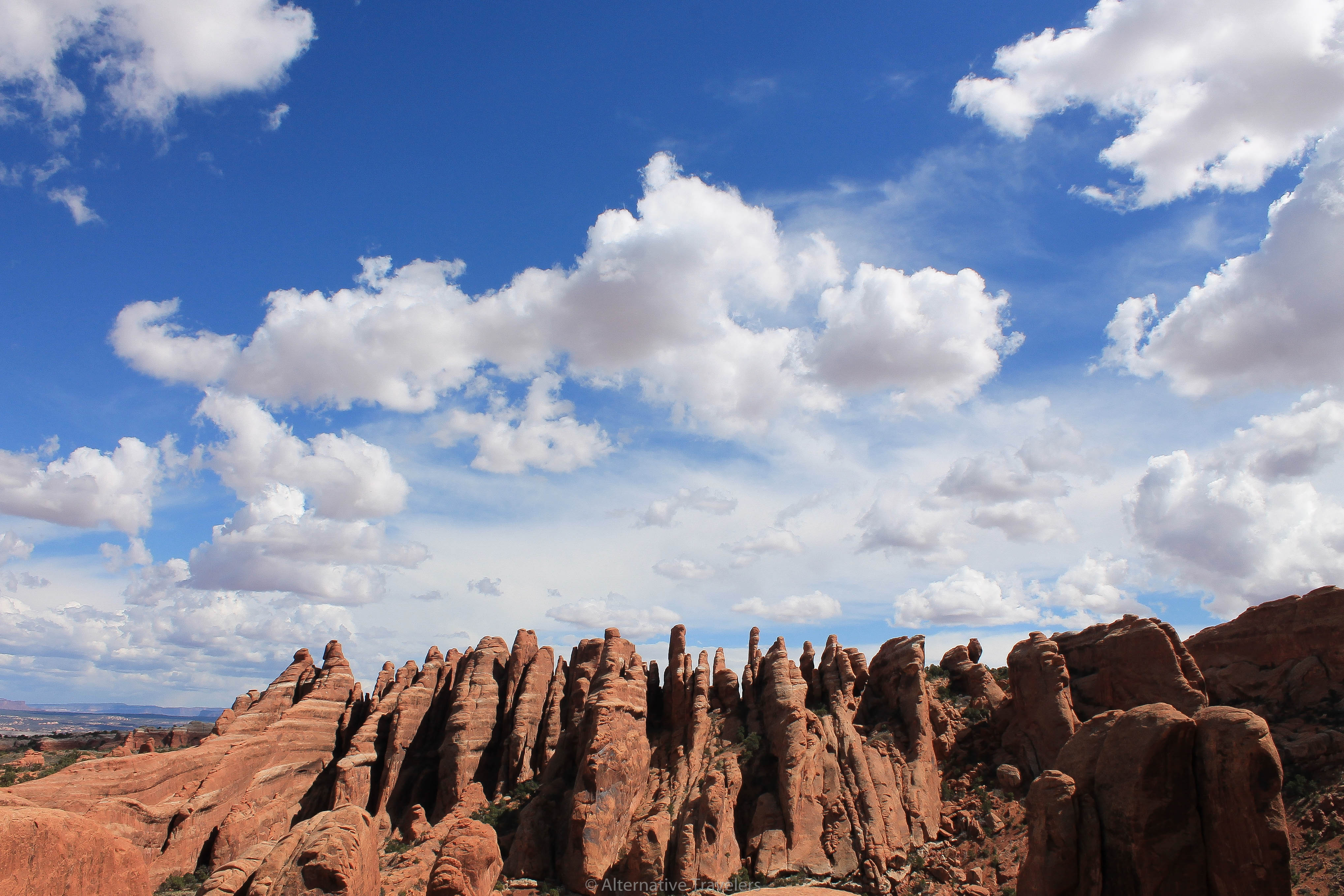 The Fiery Furnace at Arches National Park