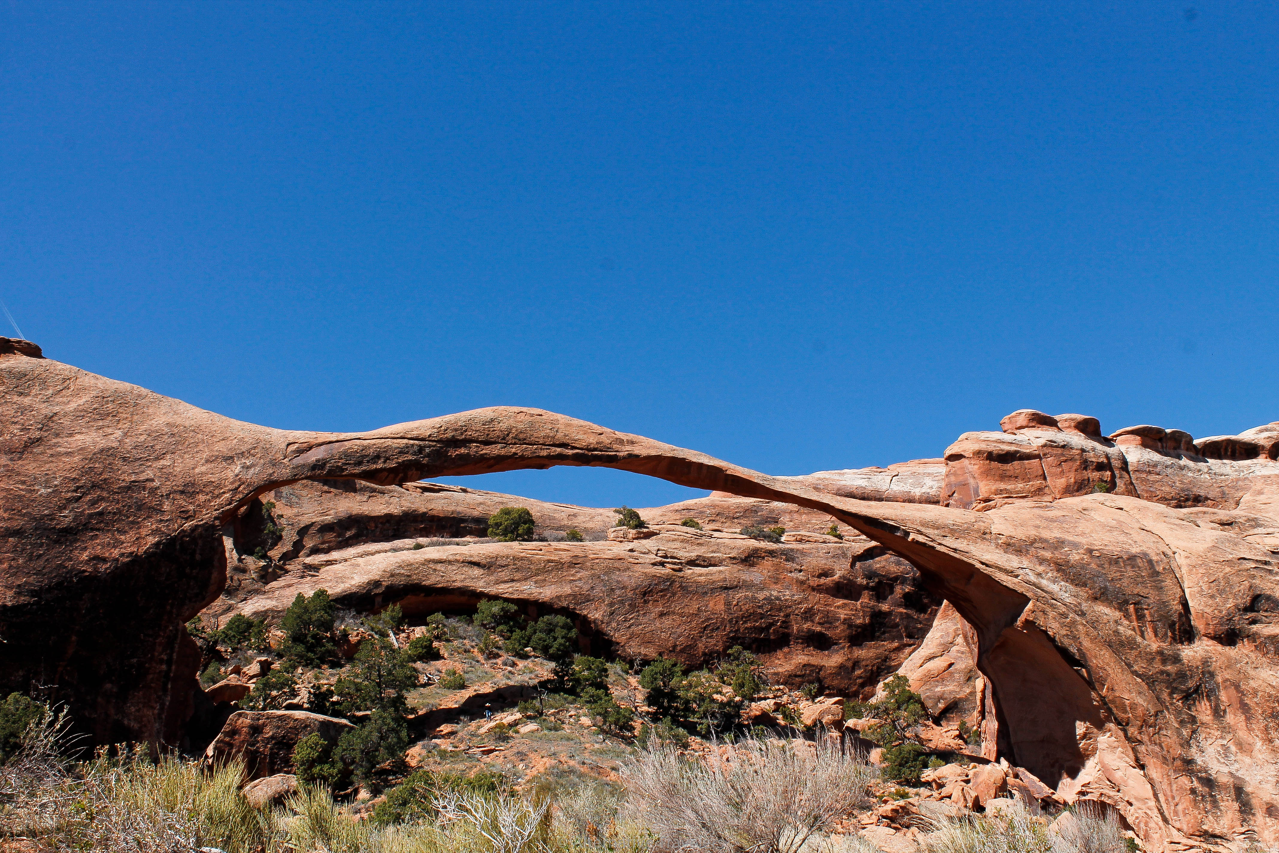 Landscape Arch in Arches National Park
