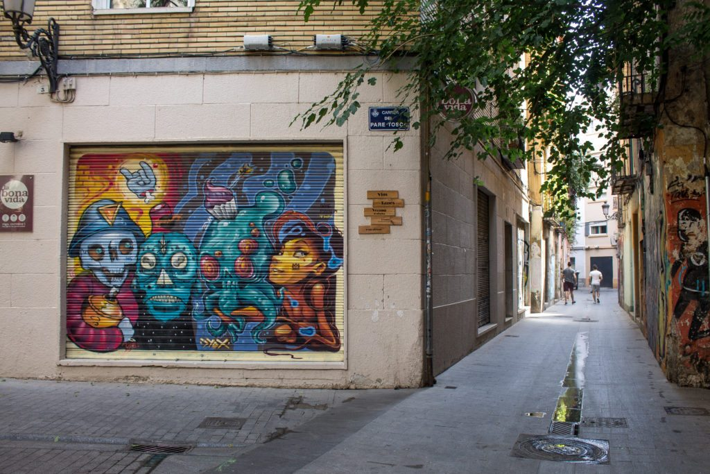 street art in Valencia