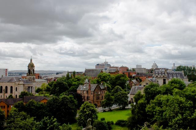 Glasgow from above