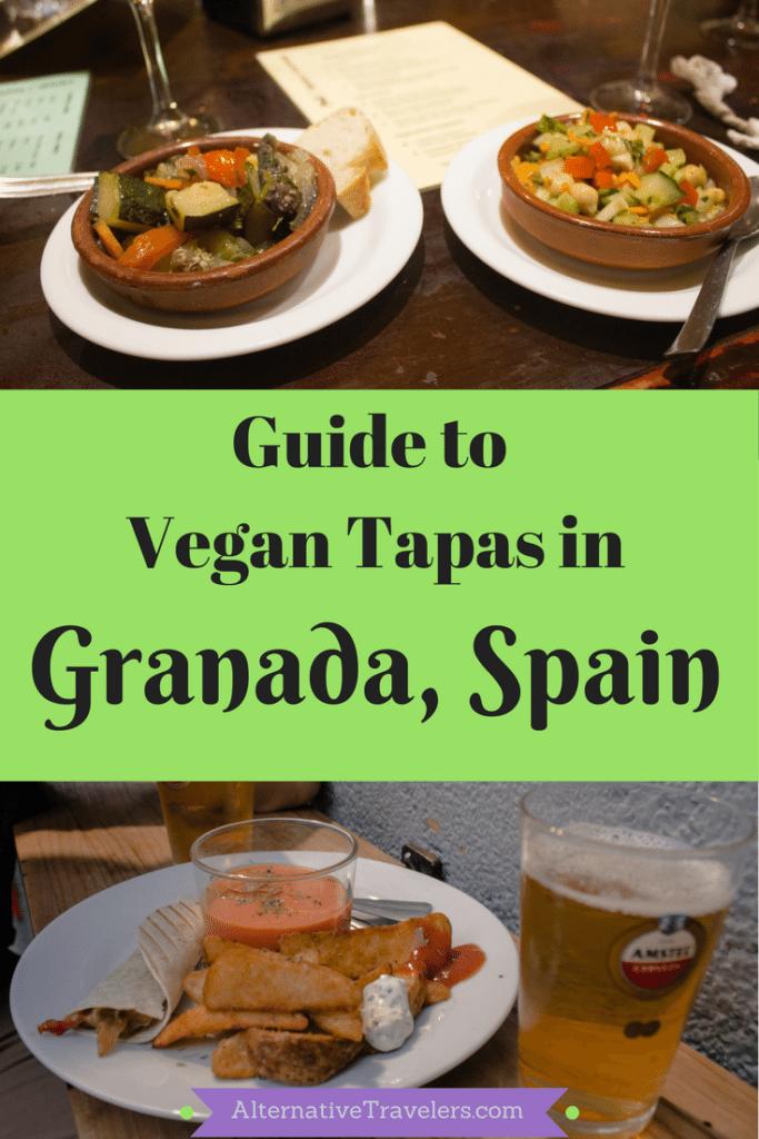 Guide to Vegan Tapas in Granada: Best vegan and vegetarian tapas in Granada, Spain!