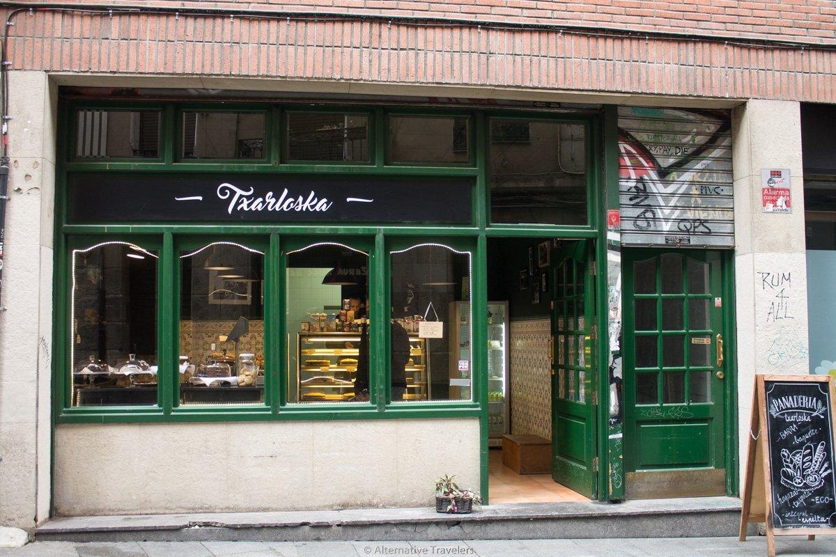 Txarloska, a vegan polish bakery in Bilbao, Spain