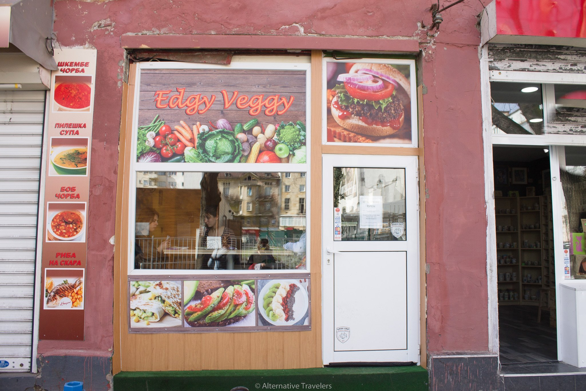 Edgy Veggy - vegan restaurant in Sofia, Bulgaria