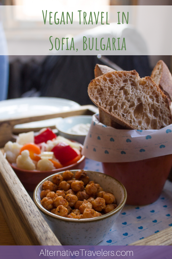 Traveling in Sofia, Bulgaria as a vegan or vegetarian? We've got you covered with the best vegan restaurants in Sofia, vegan and vegetarian Bulgarian dishes, additional vegan Sofia favorites, and which places to avoid! #VeganTravel #Bulgaria #Sofia #VeganSofia #SofiaBulgaria