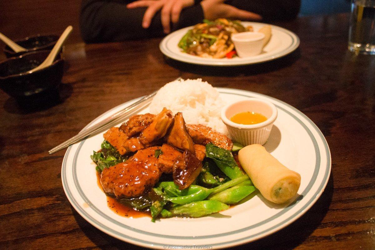 Luanne's Wild Ginger, a vegan restaurant in brooklyn