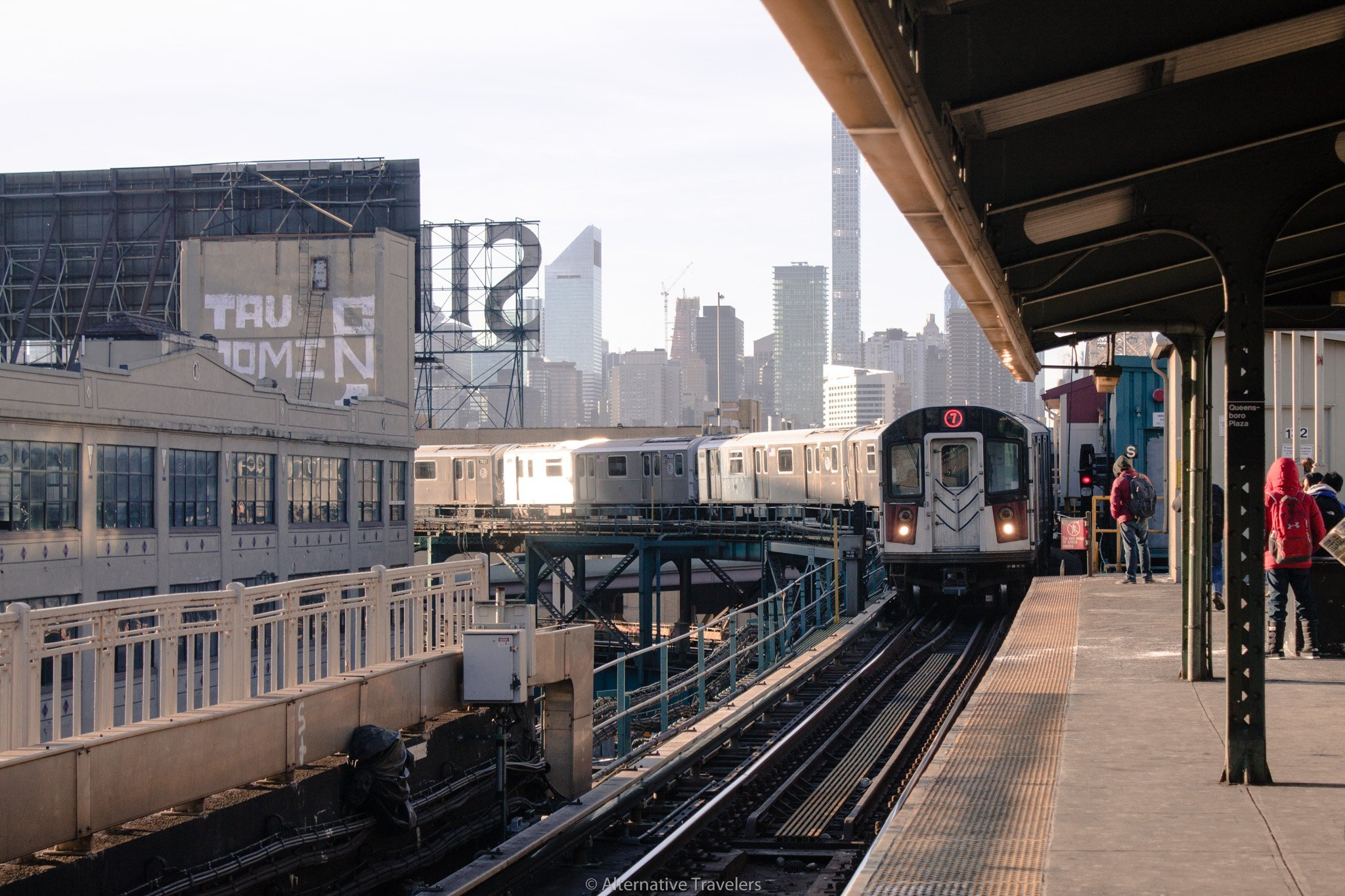 Subway at Queens Plaza