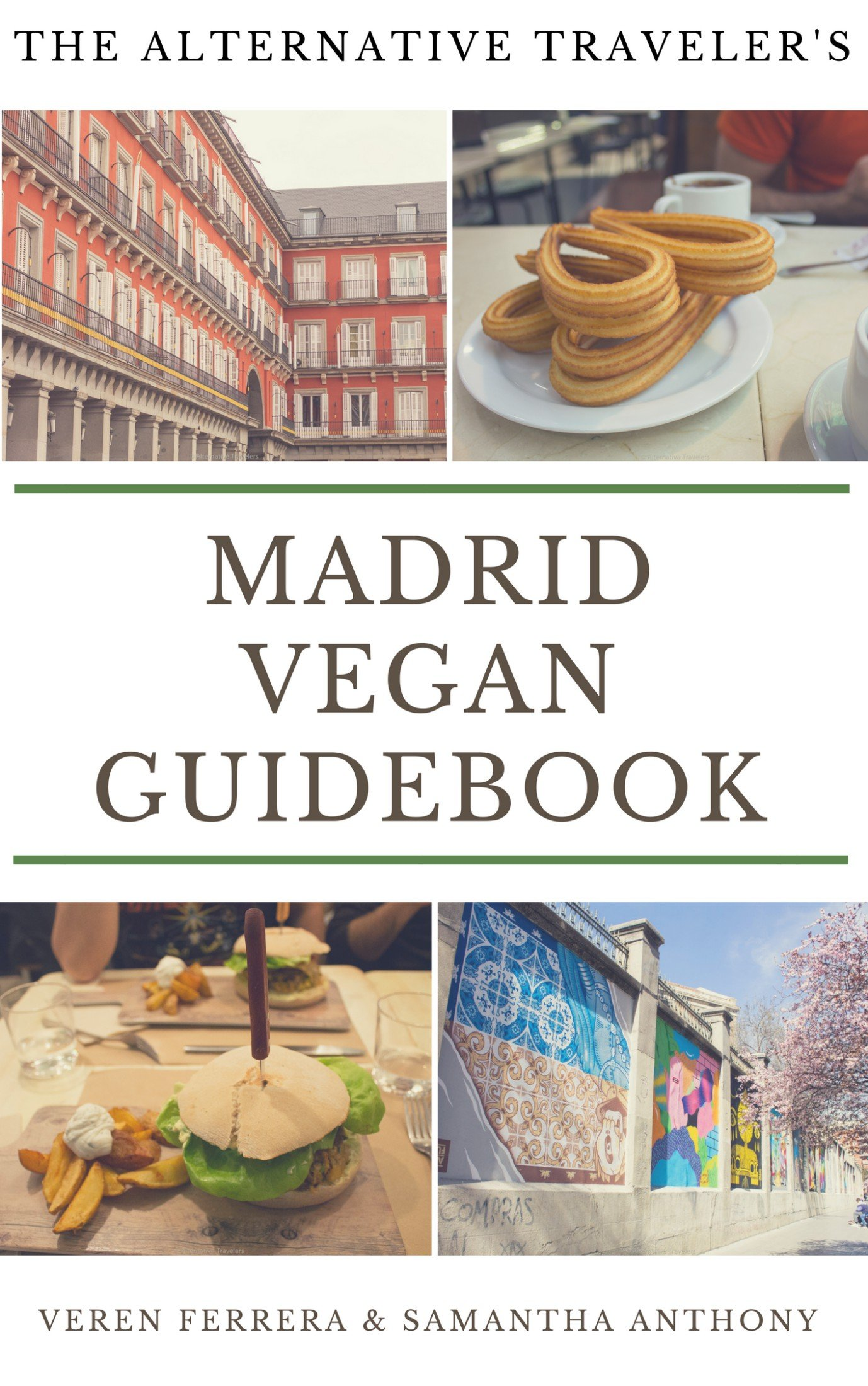 Madrid Vegan Guidebook cover