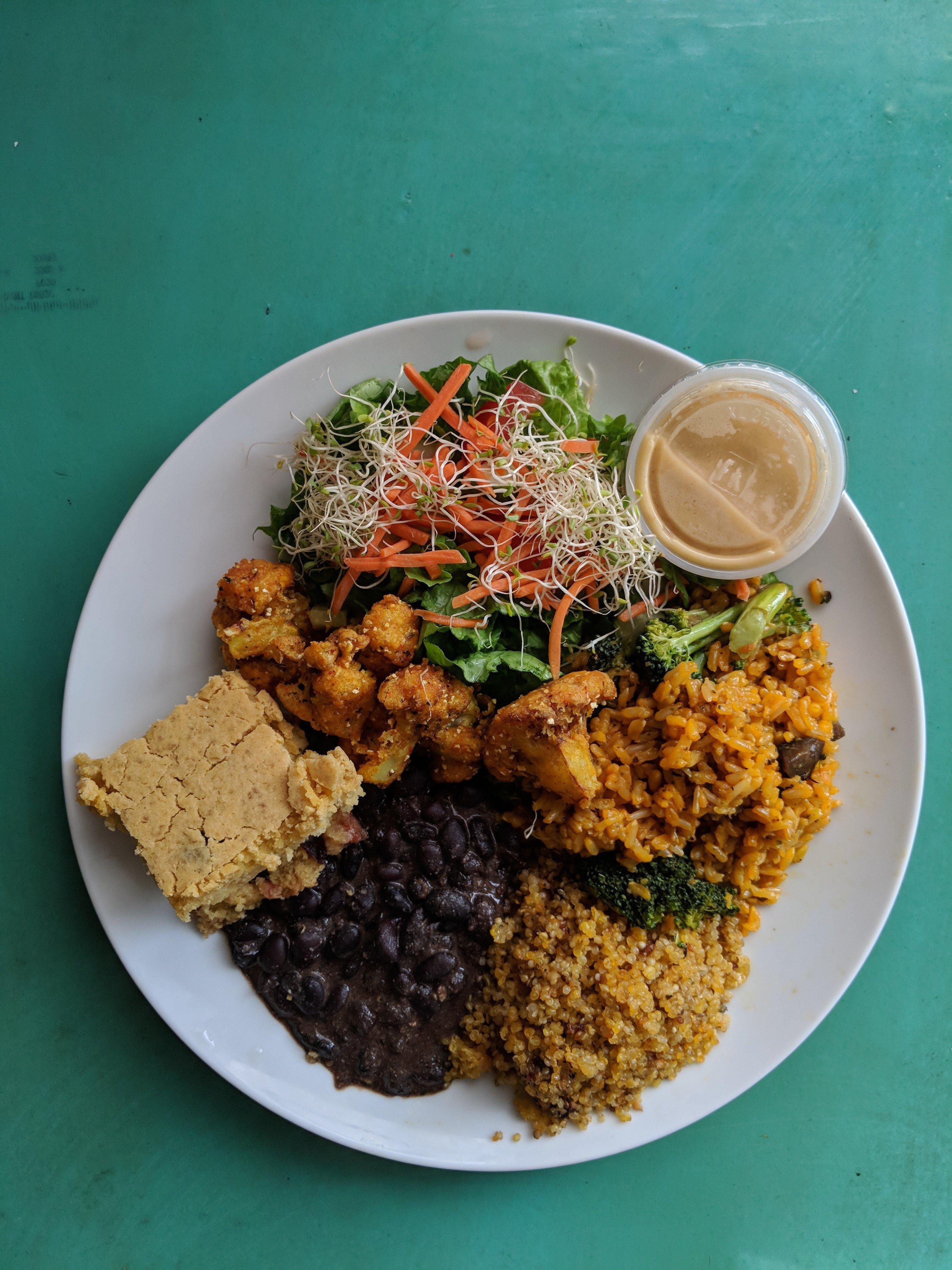 Vegan Haven vegan restaurant in St Croix