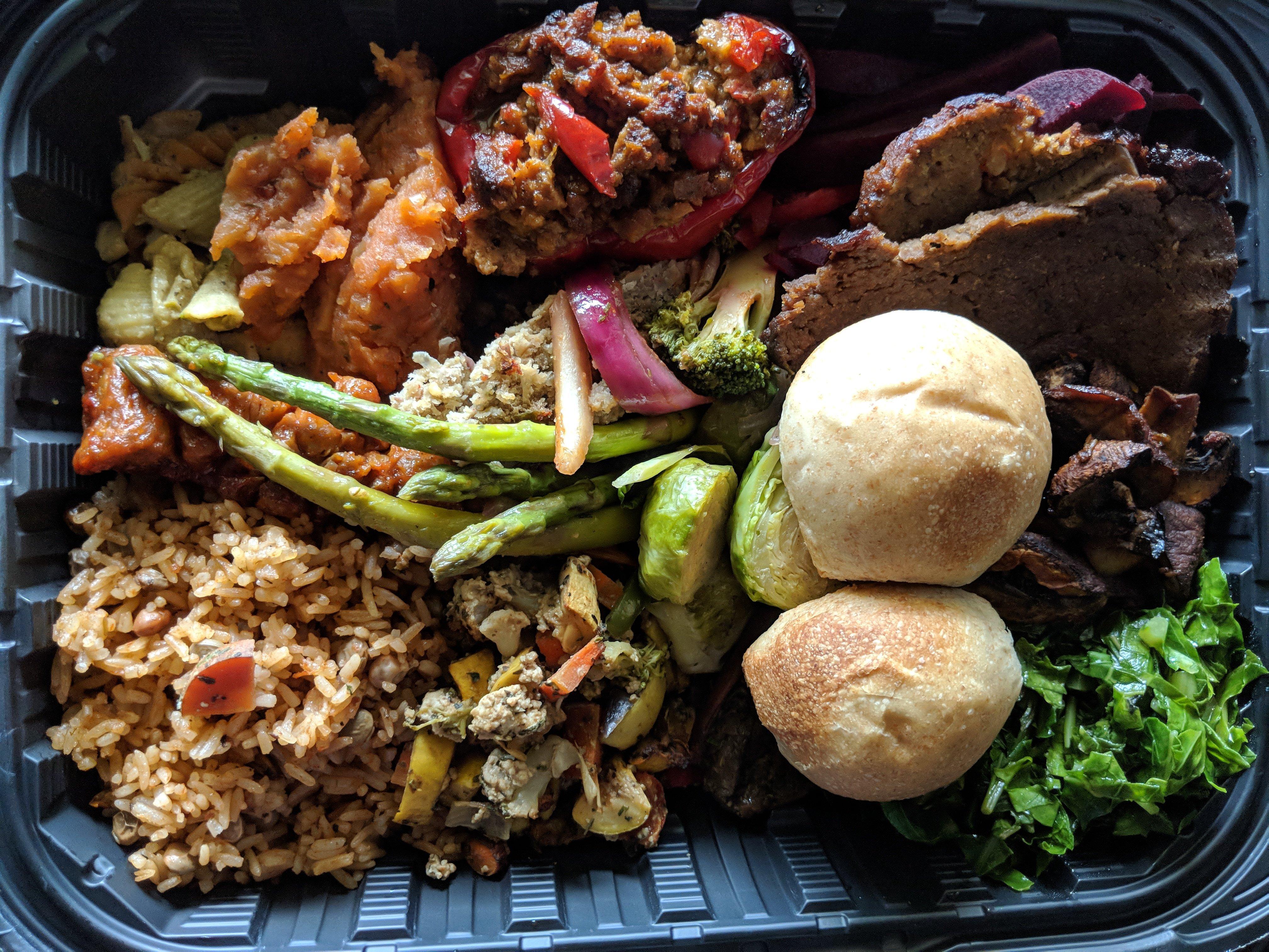 Vegetarian food in St Croix