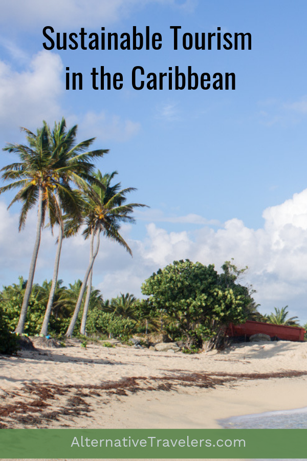 The ultimate guide to sustainable travel in the Caribbean! Learn the best sustainable tourism tips, all about ecotourism in the Caribbean, and how to be a responsible traveler in the Caribbean. #SustainableTravel #ResponsibleTravel #Ecotourism #EcoTravel #GreenTravel