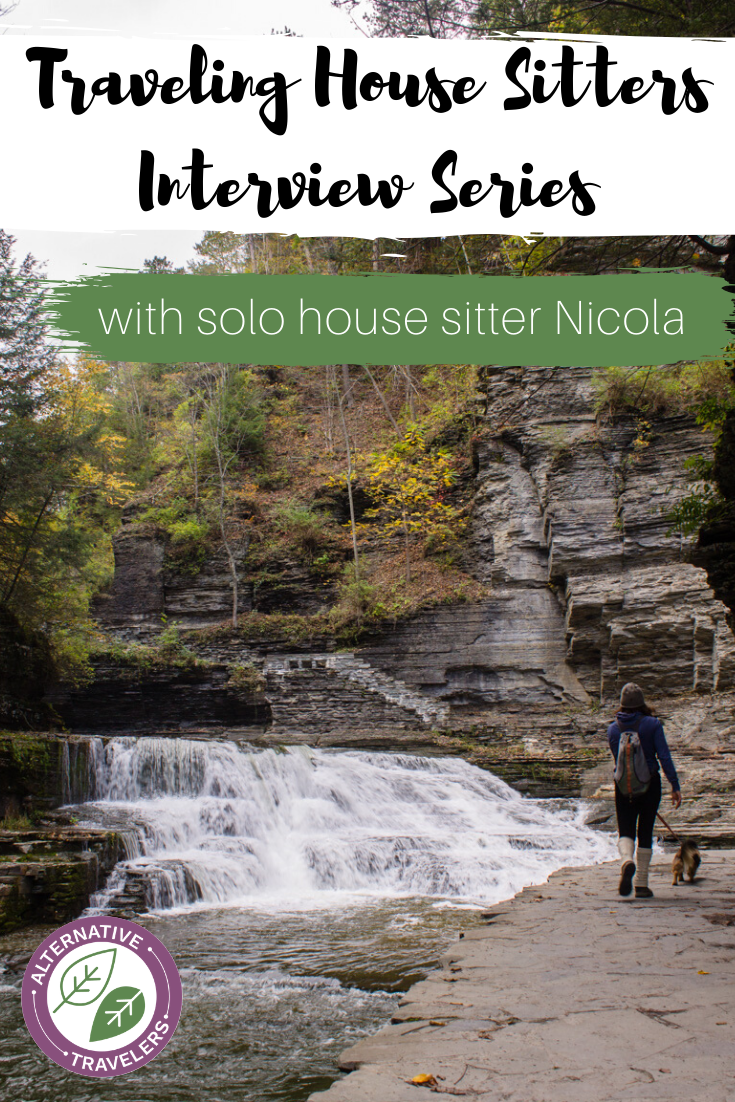 Interview with a House Sitter Series featuring Nicola, a solo female house sitter. She shares her best tips and strategies for fellow solo house sitters or those that may want to be! #housesitting