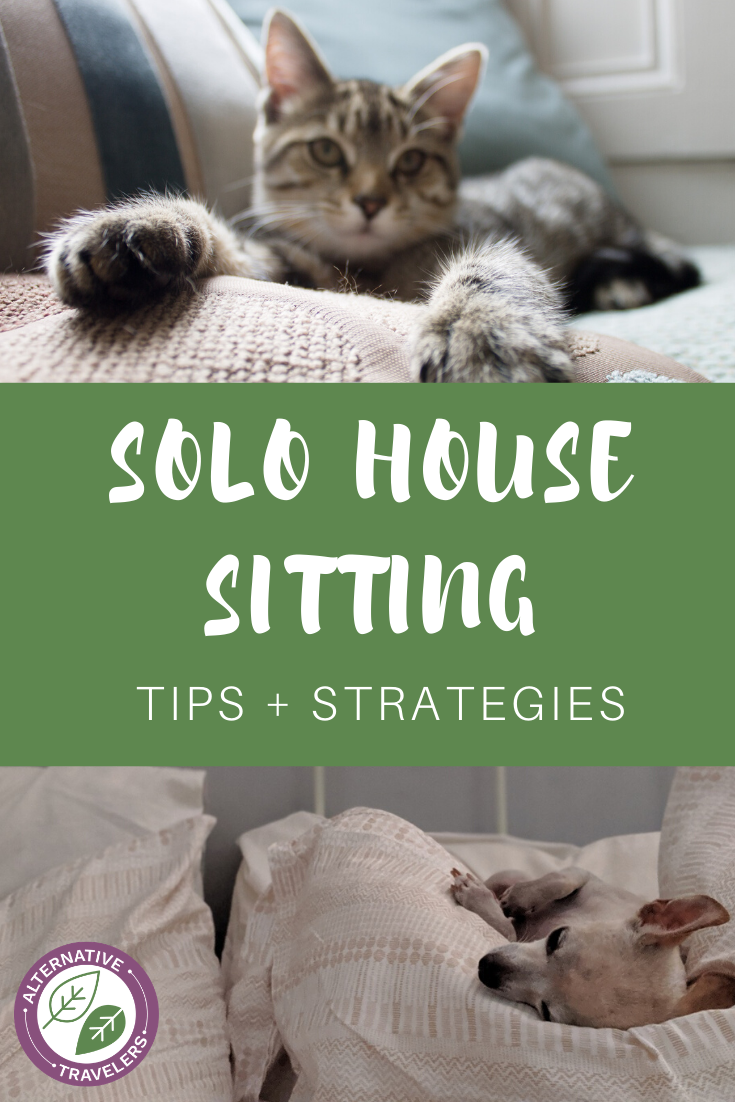 Want to house sit on your own but feeling nervous? Learn all about solo house sitting here, including strategies for safety, types of house sits to look for, and other helpful tips #housesitting #solotravel