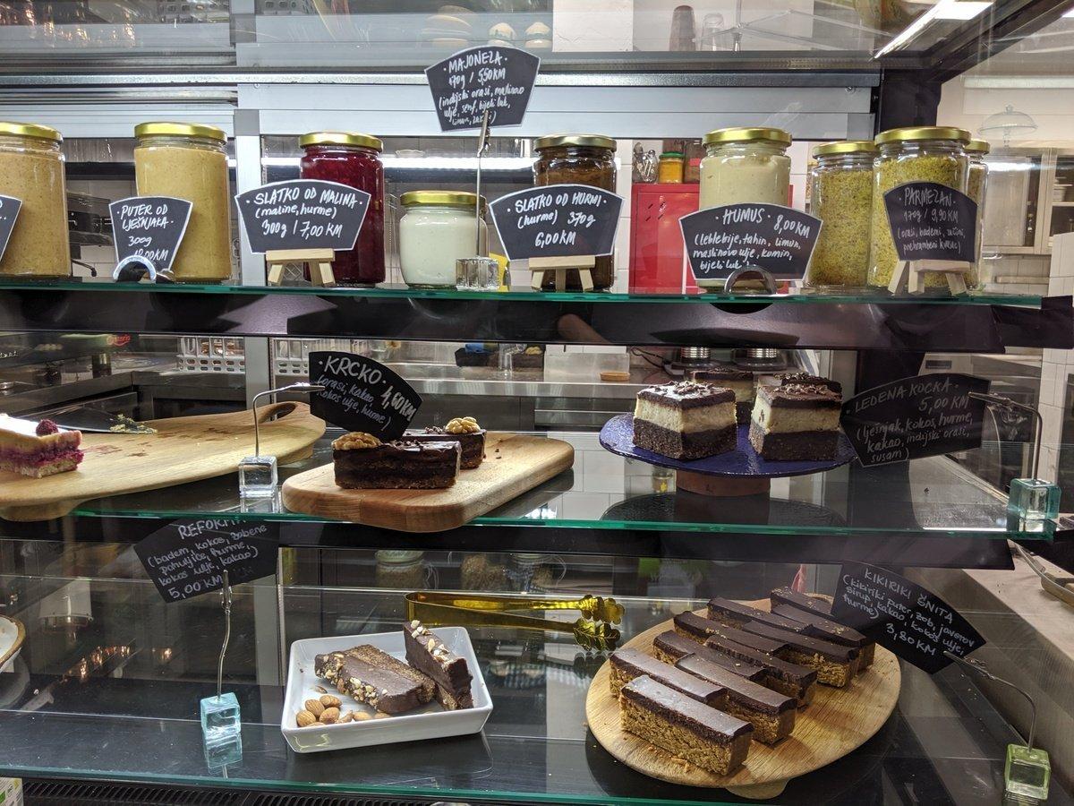 vegan desserts in sarajevo