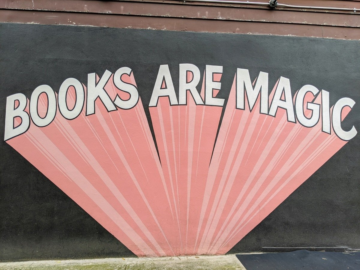 Books are Magic Mural