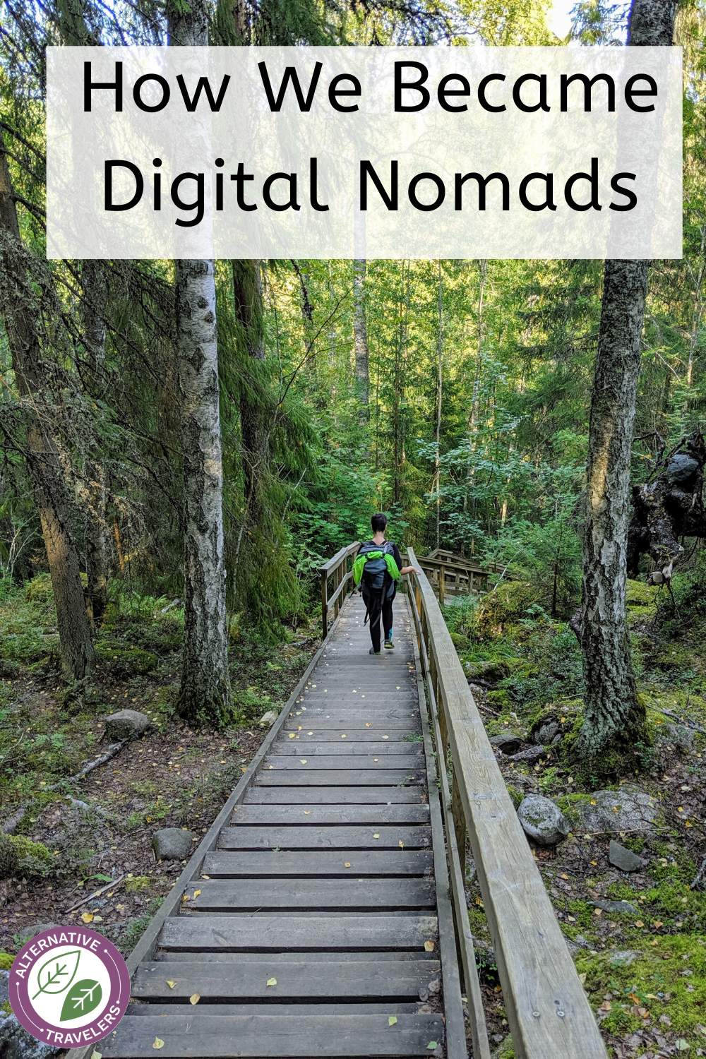 How we became digital nomads! Click to hear our digital nomad story, our most transformative travel experiences, why we left New York City, and much more on The Alternative Travelers podcast!