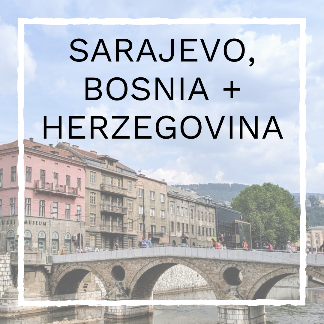 Sarajevo, Bosnia + Herzegovnia Vegan Guide