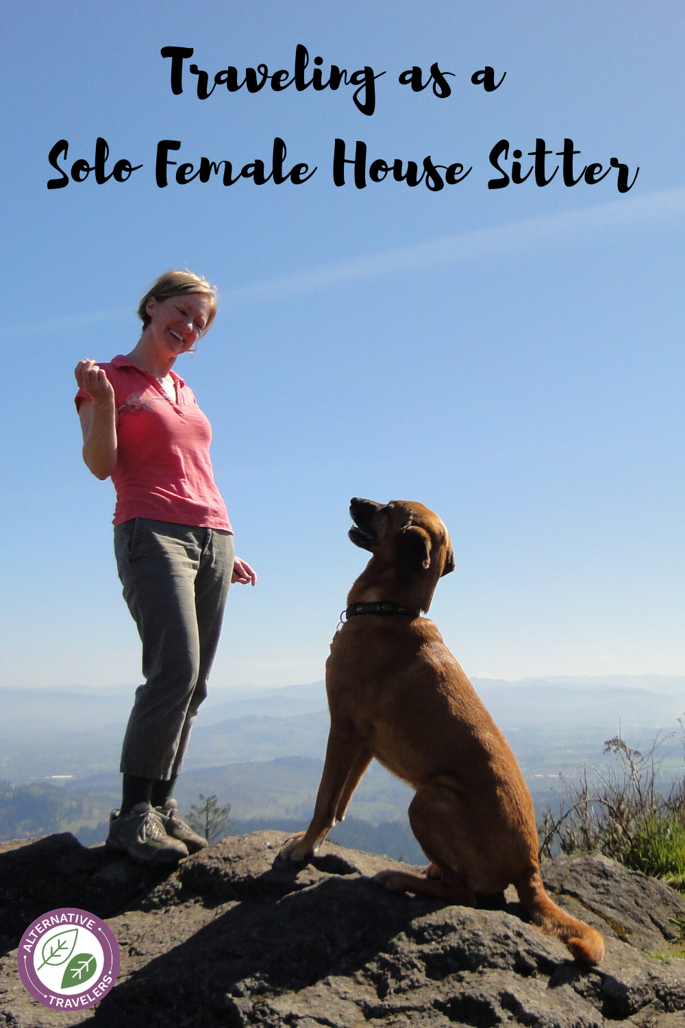 Want to start house sitting as a solo female traveler? Read Trish's inspiring story about how she sold her house in Oregon and started house sitting to travel the world. She covers fears of traveling and house sitting alone, house sitting tips, solo female travel tips, and more! #solofemaletravel #housesitting