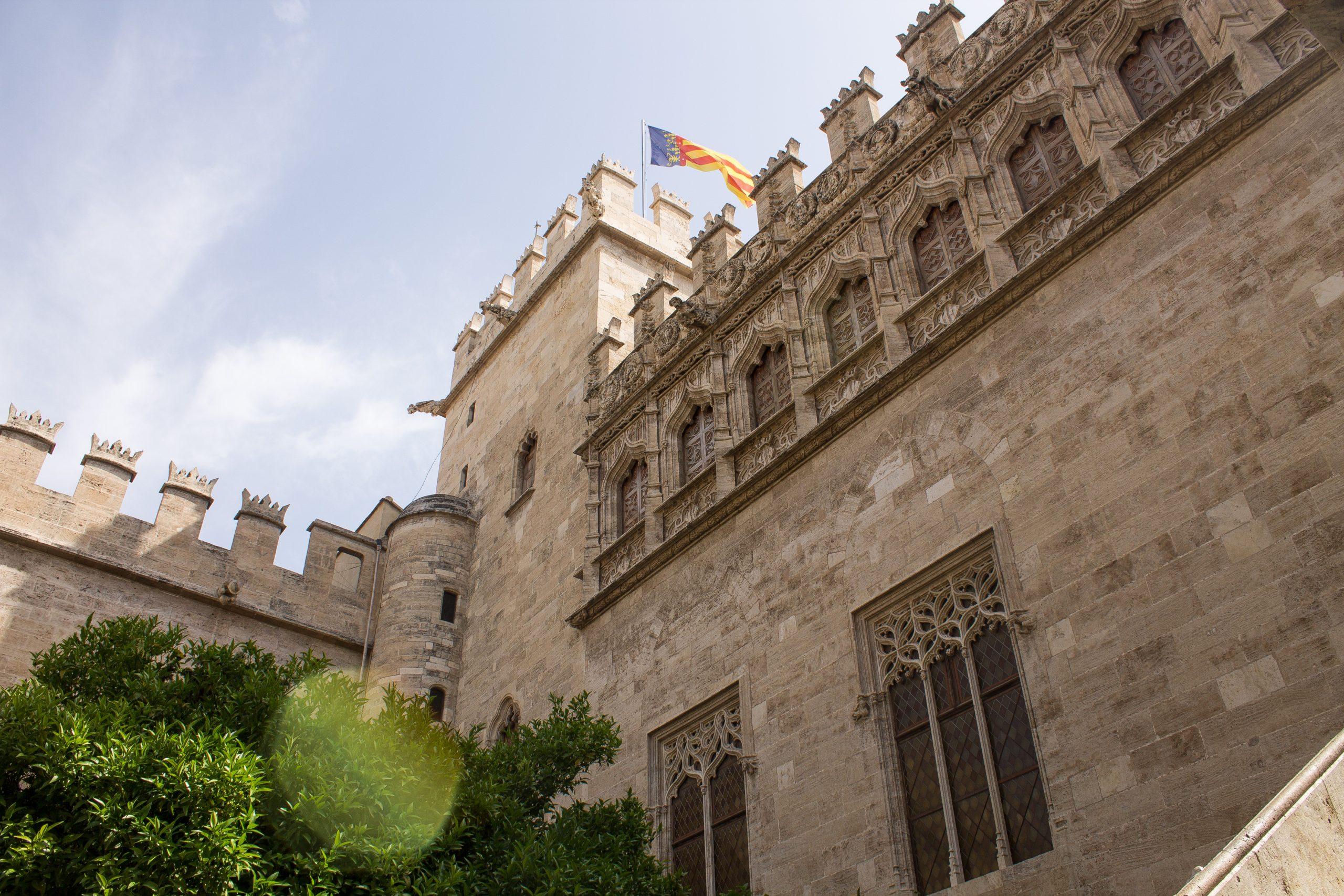 la llotja with flag - Valencia
