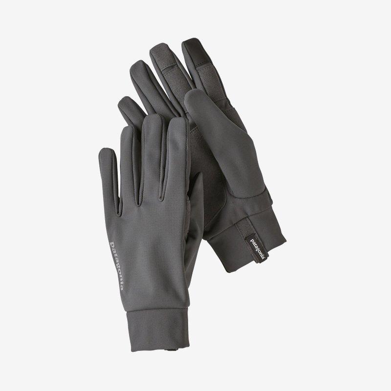 Patagonia grey gloves