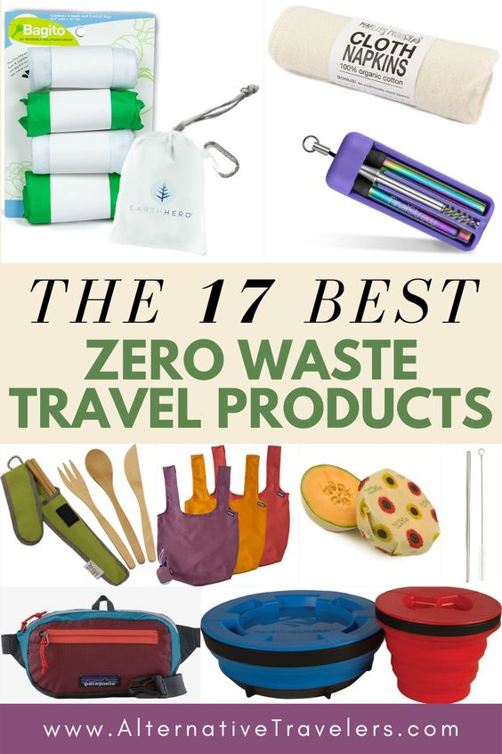 The 17 Best Zero Waste Travel Products