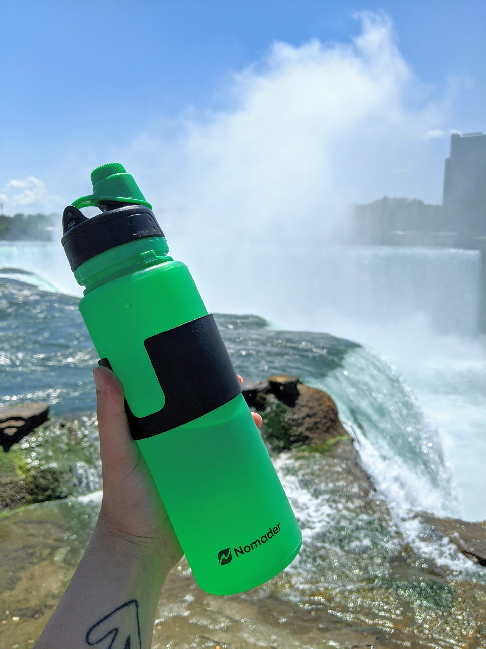Nomader green bottle by niagara falls