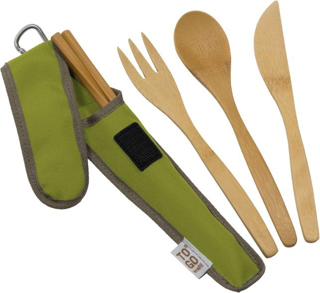 To Go Ware bamboo cutlery zero waste travel kit