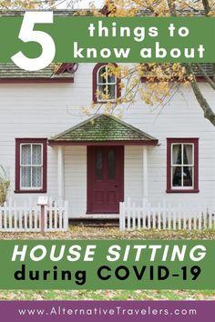 covid19 house sitting